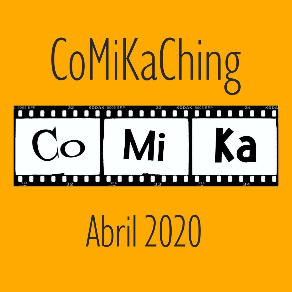 Portada Comikaching de Abril